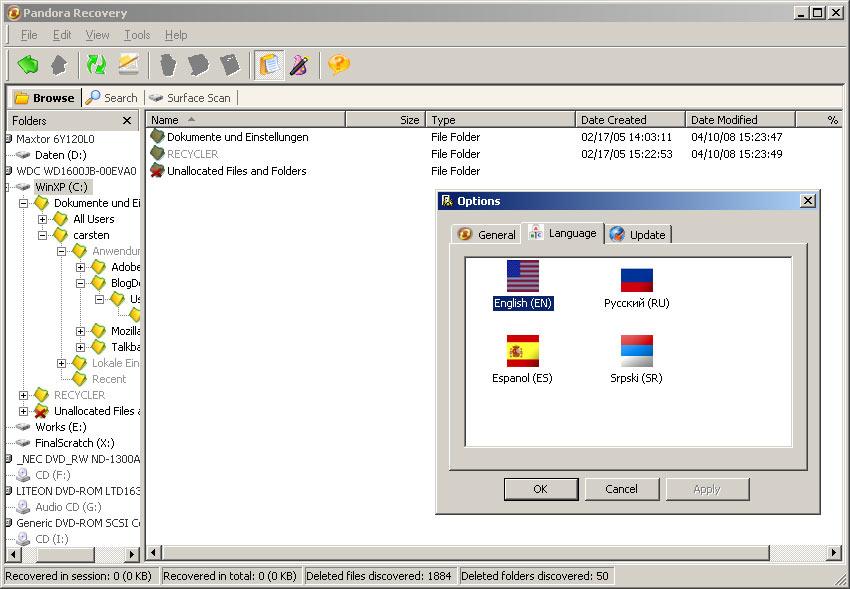 Daten wiederherstellen freeware usb stick