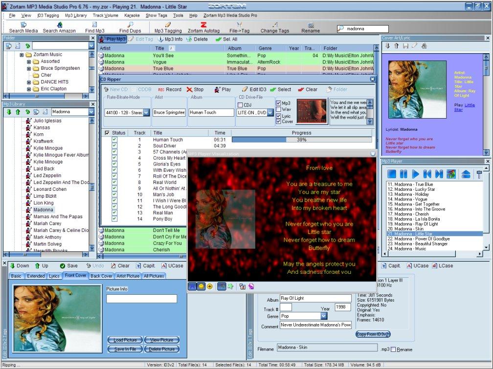 Musik / MP3 Verwaltung - Freeware Download