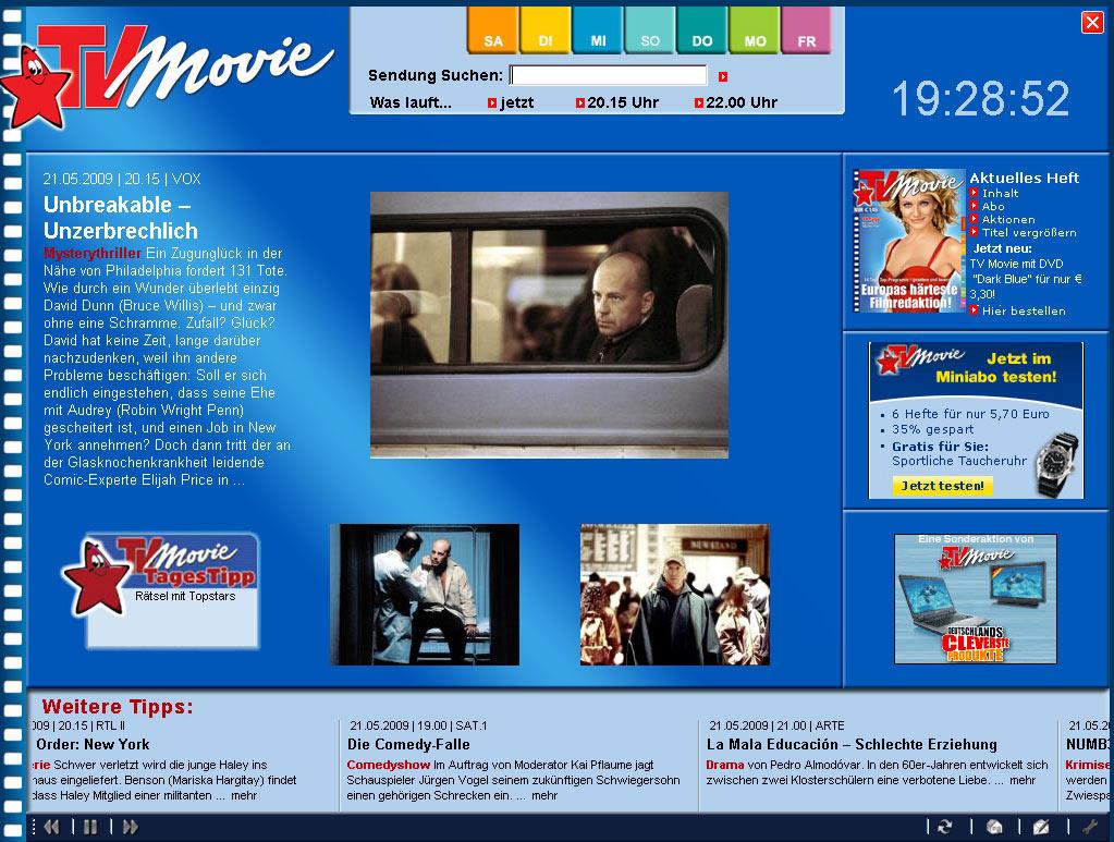 Fernsehprogramm bildschirmschoner kostenlos runterladen.
