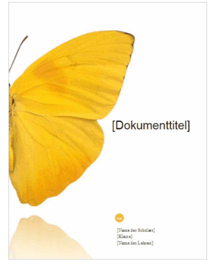 Office Vorlage Bericht Deckblatt Gratis Download