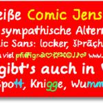 Ähnliche Schrift wie Comic Sans  – kostenlos