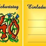 Einladungskarten gratis zum Audrucken