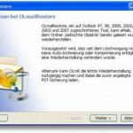 Outlook – gelöschte Emails wiederherstellen