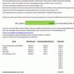 """Office-Vorlage """"Energie-Verbrauch"""" zum gratis Download"""