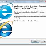 Alle Internet Explorer auf einmal Installieren
