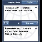 Übersetzungs- App / Software für iPhone – kostenlos