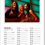 Kalender mit Foto zum ausdrucken für 2010
