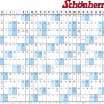 """Vorlage """"Kalender 2011″ – Download kostenlos"""