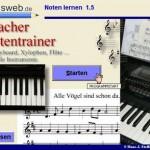 Klaviernoten lernen am PC – Software kostenlos
