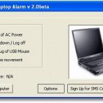 Laptop Sicherung – Alarm Software