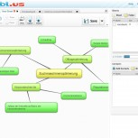 Mindmapping Software - Programmoberfläche