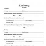 """Office-Vorlage """"Kaufvertrag"""" – Download kostenlos"""