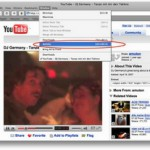 Youtube Videos mit Safari runterladen