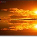 Sonnenuntergang Bildschirmschoner