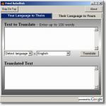 Text übersetzung englisch-deutsch – Freeware