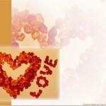 """Kostenlose Vorlage """"Valentinstags-Karte"""" zum Ausdrucken"""