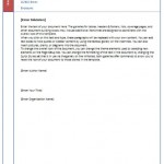 """Office-Vorlage """"Briefkopf"""" – gratis Download"""