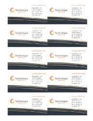Office Vorlage Für Visitenkarten Zum Gratis Download