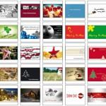 Weihnachtskarten Vorlagen – kostenlos runterladen