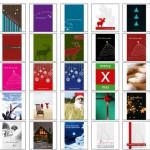 Grußkarten für Weihnachten – kostenlos runterladen