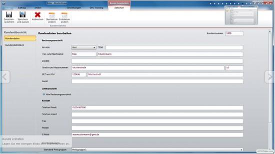 Freeware zum Kunden verwalten