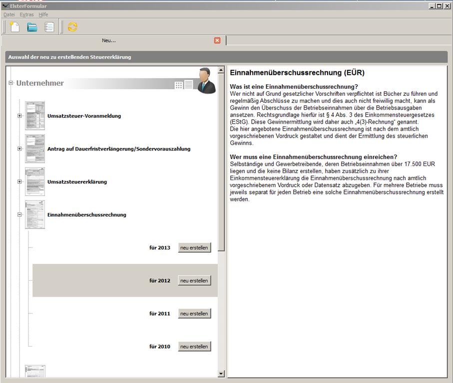 elster steuererklärung 2013 kostenlos downloaden
